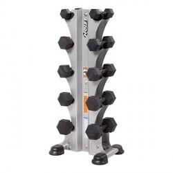 Range-haltères vertical PRO 5 paires