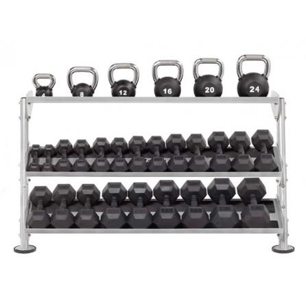 range-halteres-et-kettlebells-horizontal-trois-niveaux-semi-professionnel-haut-de-gamme-hoist-fitness-hf-5461-60