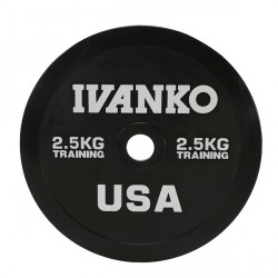 Disque Olympique Bumper 2.5 kg